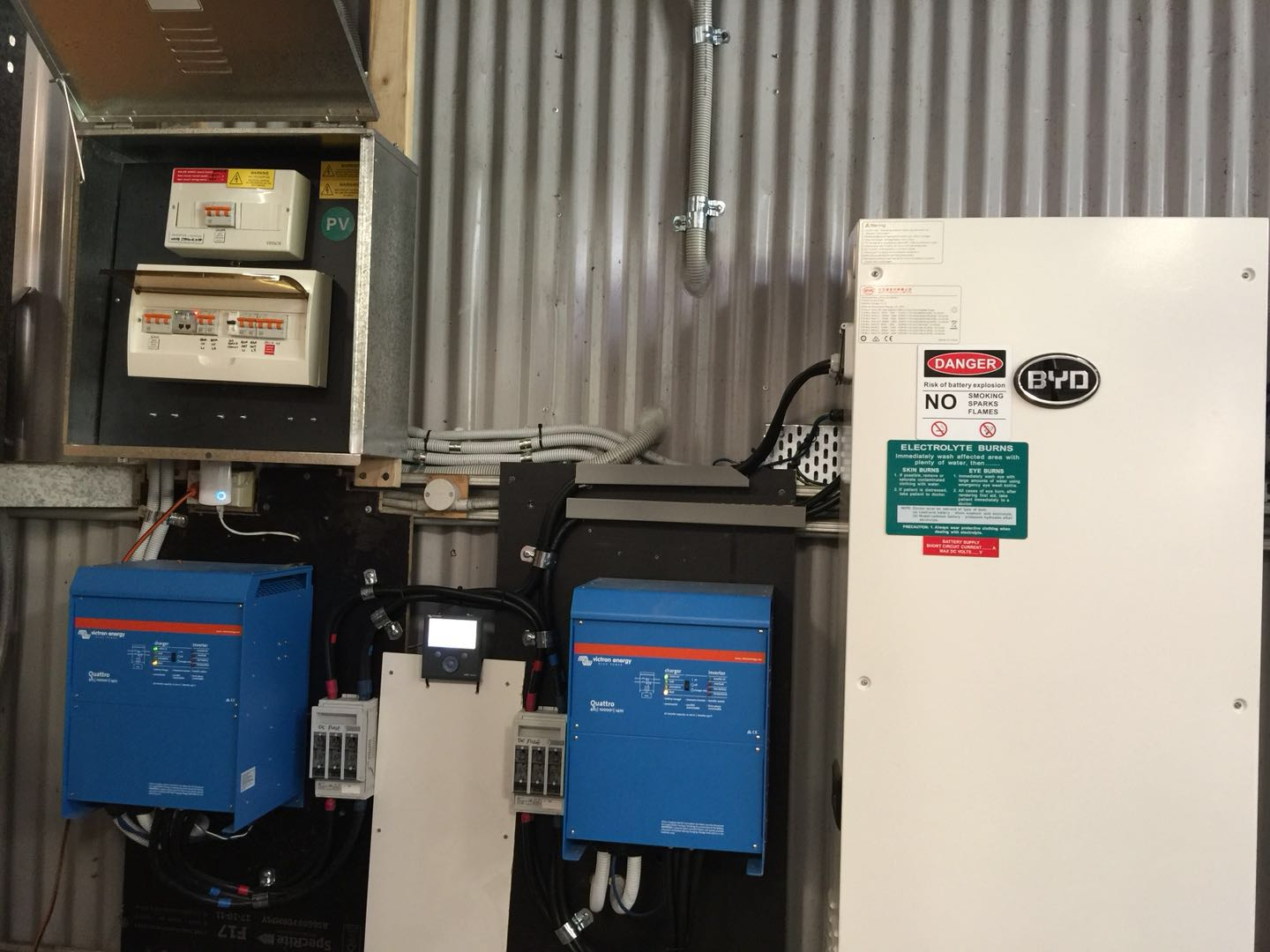 solar batteries and inverters